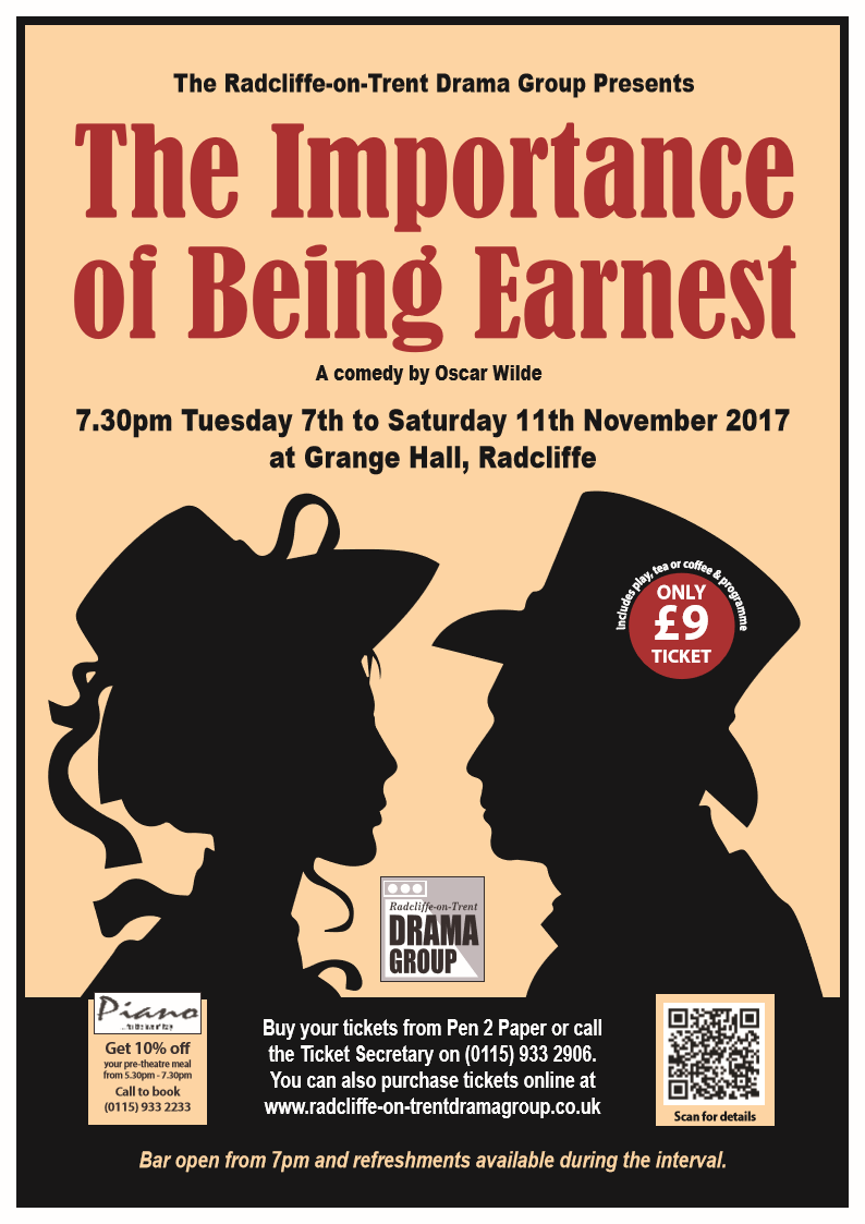 the importance of being earnest a Is anyone being earnest in this play according to oscar wilde, heck yes for wilde, a gay man in the hyper-repressive victorian era, it was necessary four days after the importance of being earnest was first performed, wilde was called out by his boyfriend's dad for being gay this led to a series of.