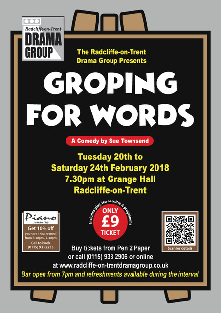 Groping For Words By Sue Townsend